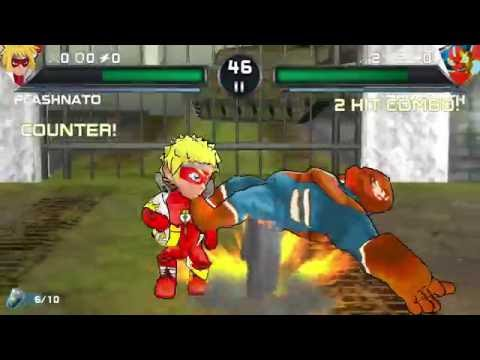 Superheros 3 Free Fighting Games