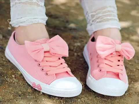 stylish sport shoes for girls - YouTube