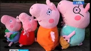 «Свинка Пеппа» подложила свинью продавцам в Иркутске