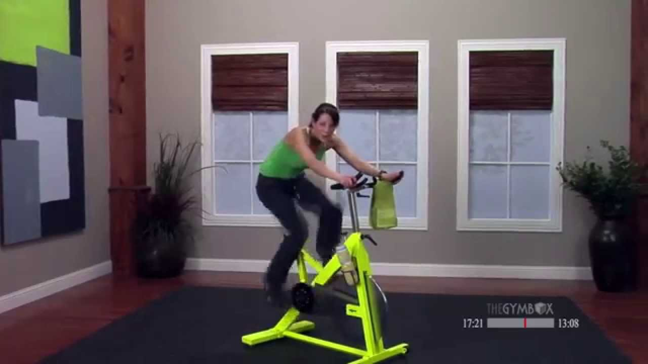 Stationary cycle workout with Stefanie - 30 Minutes