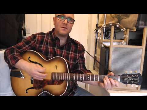 Lost John (aka 'Long Gone Last John') - Skiffle - Lonnie Donegan cover - Jez Quayle