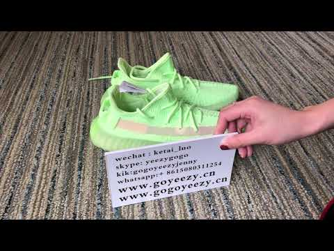 98a8ec0d9 Unboxing ! Detail Review for Yeezy 350 boost v2 Gid glow! - YouTube