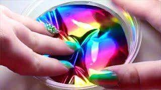 Magisch regenboog slijm! wow!