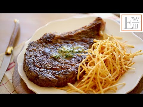 Steak Frites with Herbed Compound Butter