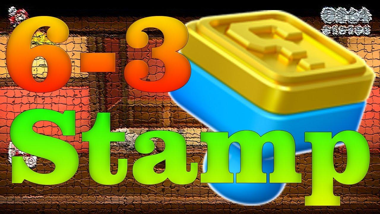 Super Mario 3D World - World 6-3 Hidden Stamp - YouTube