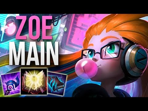 THIS CHALLENGER ZOE MAIN IS INCREDIBLE | CHALLENGER ZOE MID GAMEPLAY | Patch 9.12 S9