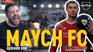 I GOT RONALDO!!!  | MAYCH FC: MY CLUB SERIES | EPISODE 1