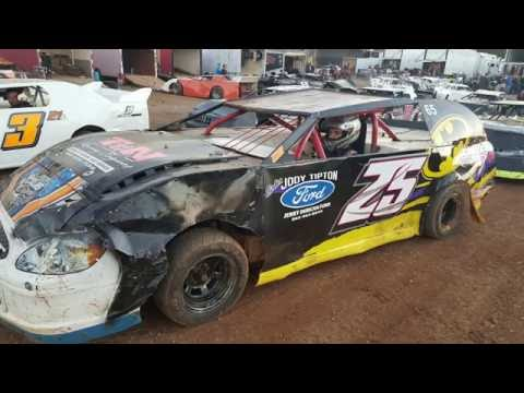 #25 Dylan Duggan - Pony - 10-8-16 - Crossville Speedway- In-Car Camera