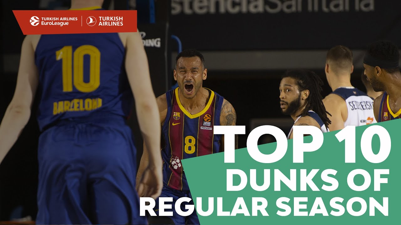 Turkish Airlines EuroLeague, Top 10 Dunks of Regular Season!