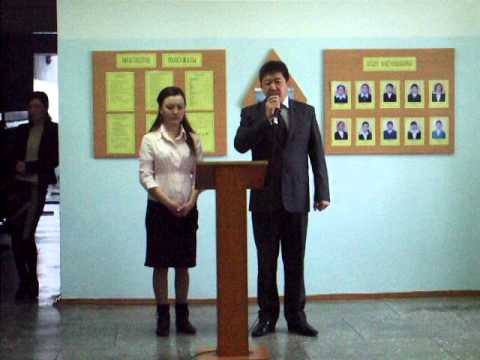 Poll Opening in Kazakhstan Early Presidential Elections