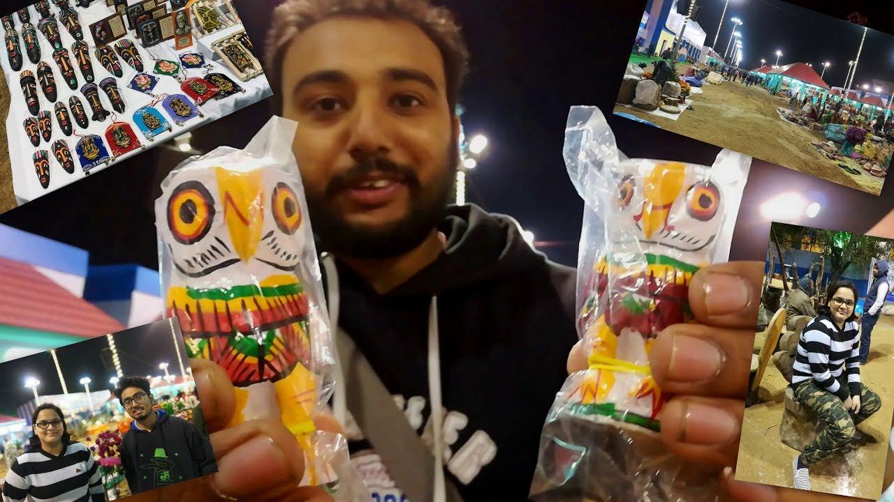 Asansol Hosto Shilpo Mela Handicraft Fair 2018 Youtube