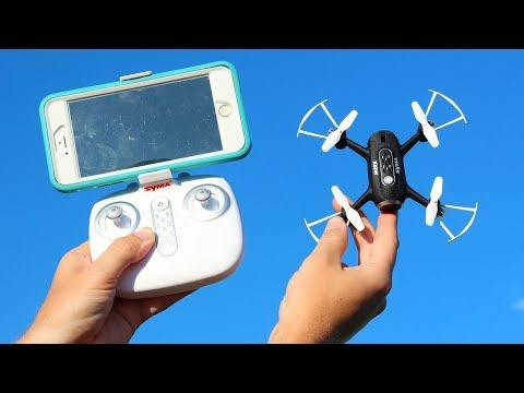 Fun FPV Camera Drone That Works - Syma X22W - TheRcSaylors