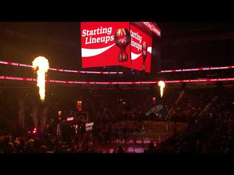 2017-18 New Orleans Pelicans Intro (vs CLE 10/28/17)