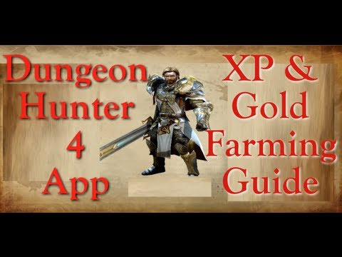 DH4 / Dungeon Hunter 4 Ipad App XP & Gold Guide