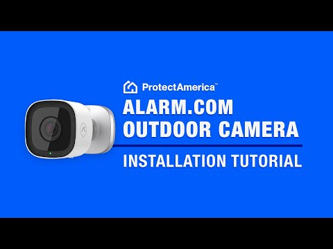 how-to-install-an-alarm.com-outdoor-camera:-quick-demonstration