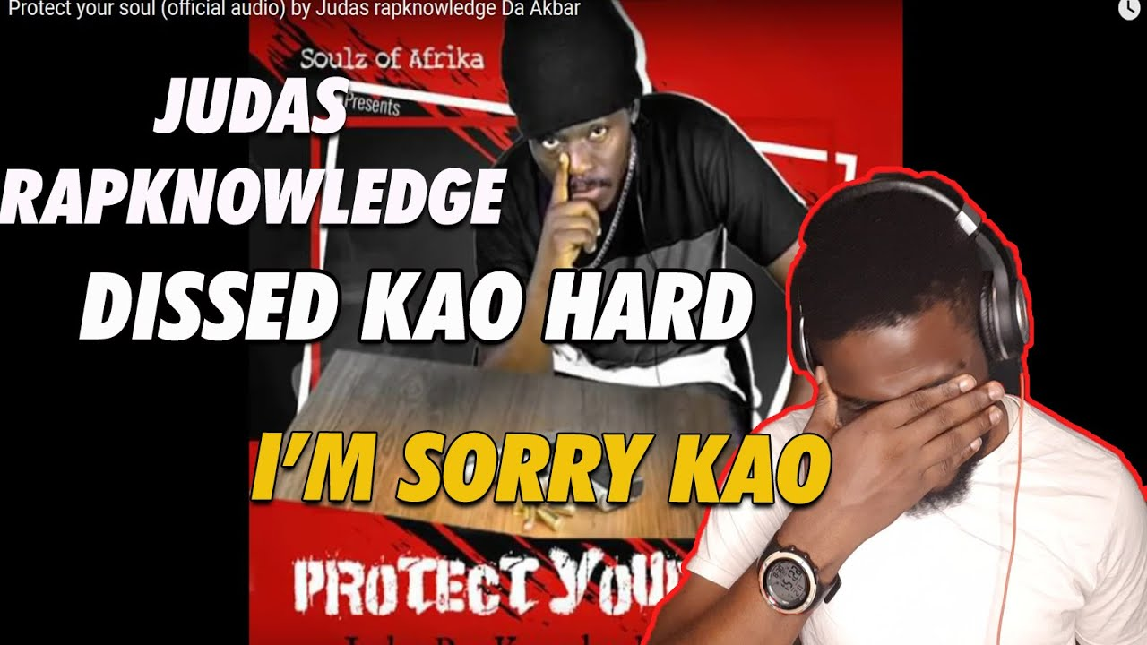Download Judas Rapknowledge -  Protect Your Soul (Kao Denero Diss) Reaction /He left Kao wounded on this one.