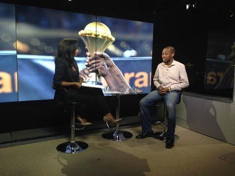 Shoggy Tosh on Global Sports Report, Arise News, London - 23 January 2015