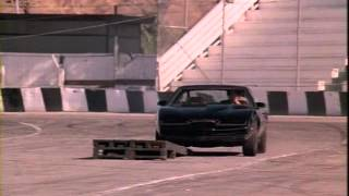 Knight Rider amazing stunts,