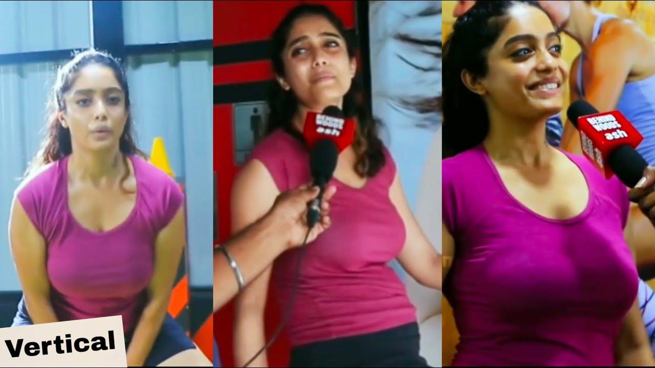 Download Abirami Venkatachalam Hot Gym Workout   Vertical Edit   Actress Shots