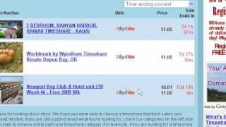 Cheap Timeshares For Sale - How to find them on eBay