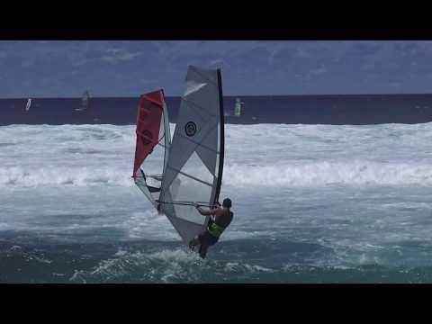 Windsurfing Action Back at Ho'okipa Sept 6th 2017