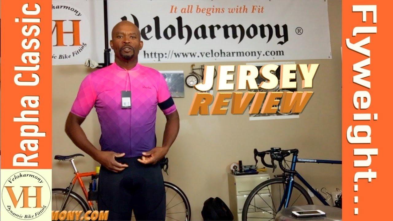 Rapha Block Fade Print Classic Flyweight Jersey - YouTube 917e692cc