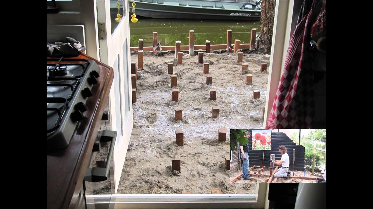Vlonder In Tuin : Vlonders terrastegels buitenparket