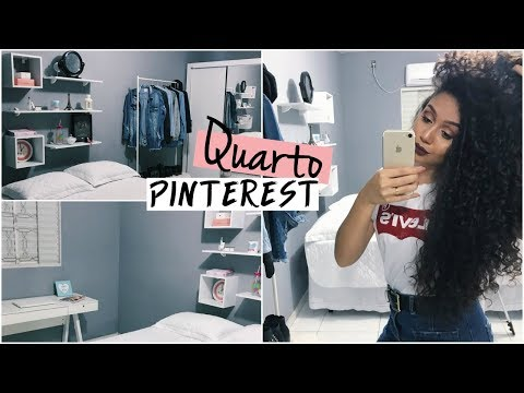 TOUR PELO MEU QUARTO INSPIRADO NO PINTEREST | Vandressa Ribeiro