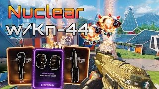 bo3 nuclear w kn 44 new weapons in bo3 butterfly knife wrench brass knuckles bo3 gameplay