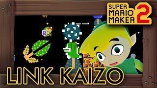 Super Mario Maker 2 - Crazy Link Kaizo Level