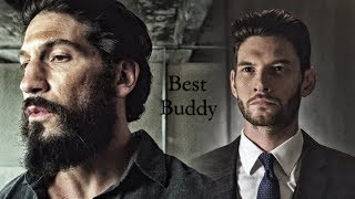 (The Punisher) Frank Castle and Billy Russo | Best Buddy