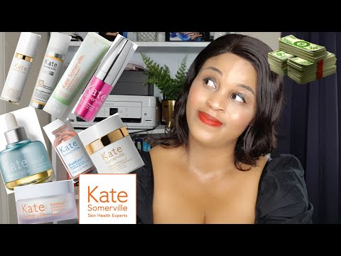 I USED ONLY KATE SOMERVILLE SKINCARE FOR 2 MONTHS. WORTH THE HYPE??/ 2020