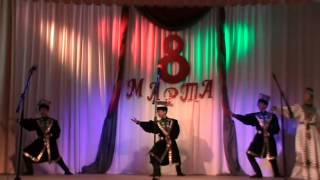 """Лагань концерт посвященный  8 марта Калмыцкий народный танец """"Товшур"""" Дольган"""