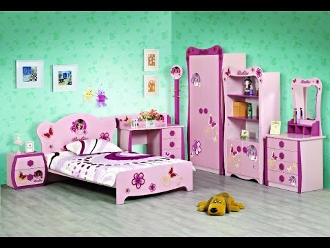 Beautiful Bedroom Set.  Beautiful Kids Bedroom Furniture YouTube