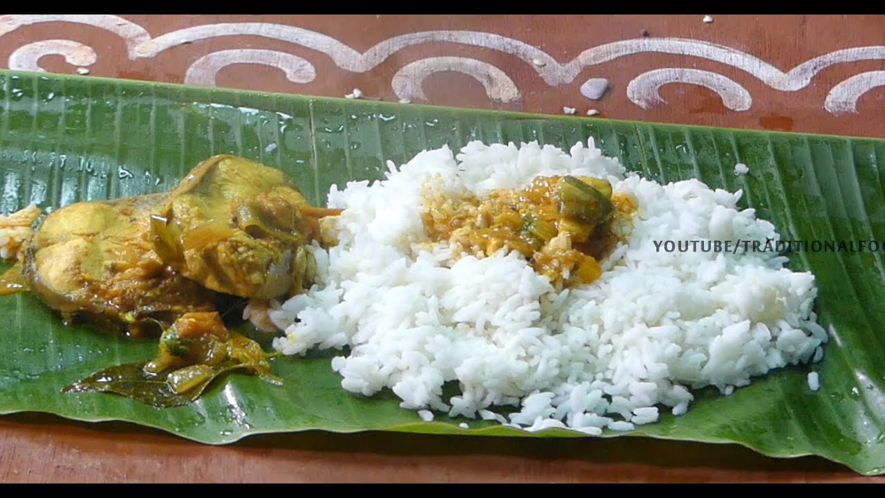 Fish curry making tamilnadu style traditional foods for Aharam traditional cuisine of tamil nadu