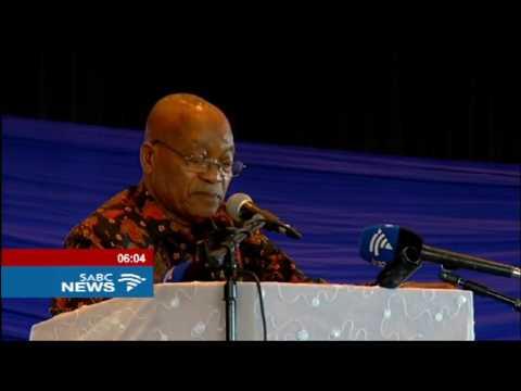 Pres. Zuma criticises protest action