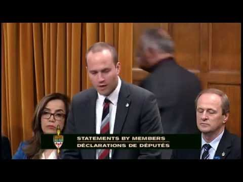 Liberal MP Nathaniel Erskine-Smith Recognizes Balmy Beach Club and Rugby Canada in Parliament