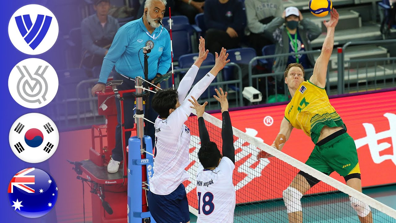 Korea vs. Australia - Full Match | AVC Men's Continental Olympic Qualifier Tournament 2019