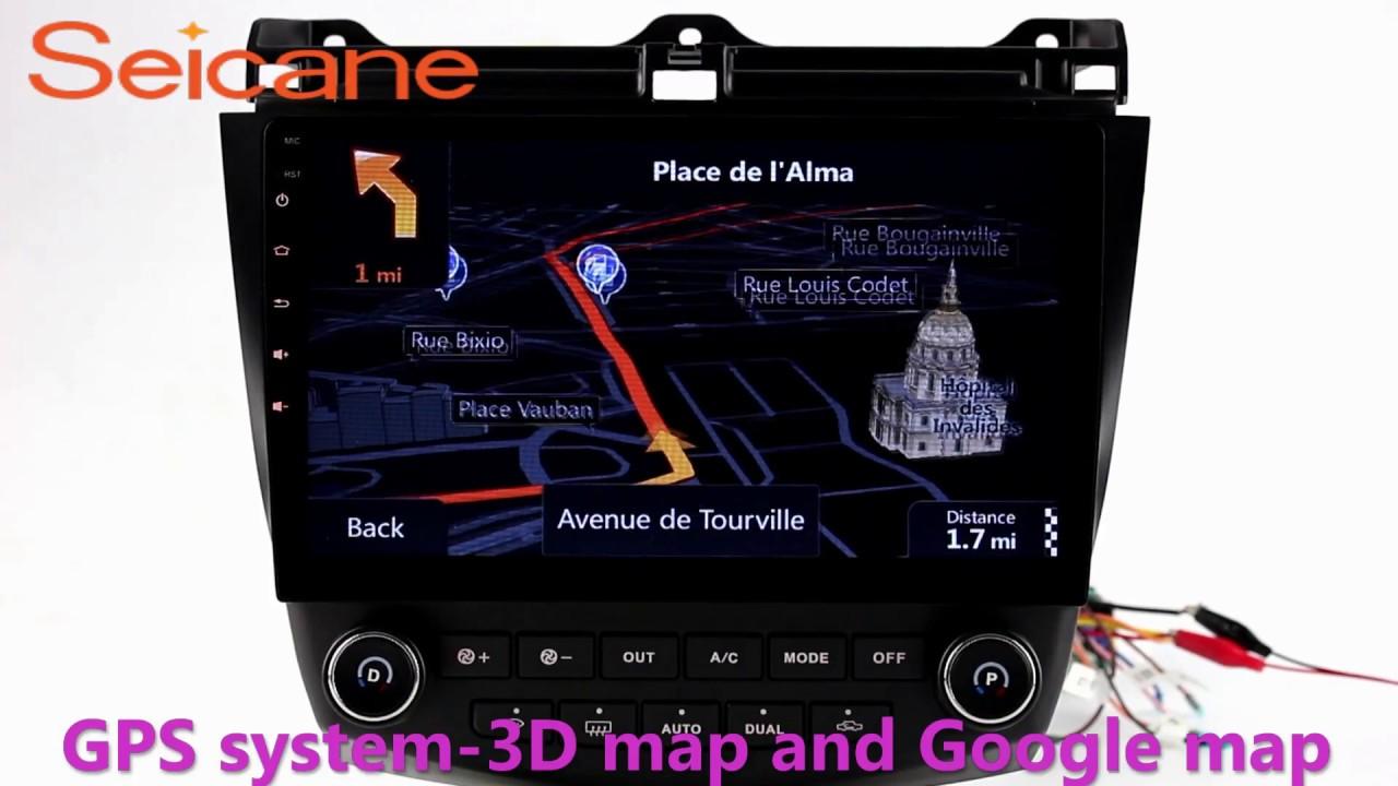 7 Way Navigation Ba Falcon Premium Sound Wiring Diagram Aftermarket Radio Gps 2003 2004 2005 2007 Honda Accord Car Stereo With Usb Auto A V