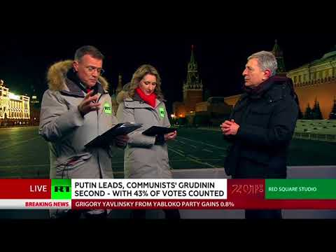 Stelios Kouloglou interview on RT | Russian Elections | 18/3/18
