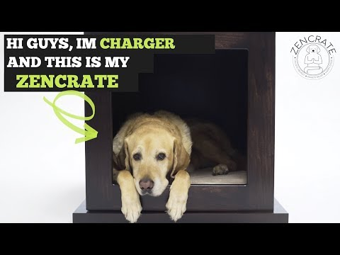 ZenCrate - Smart Anxiety Relief Dog Crate