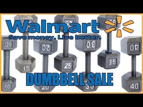 Walmart Dumbbell Sale (Slick Deals)