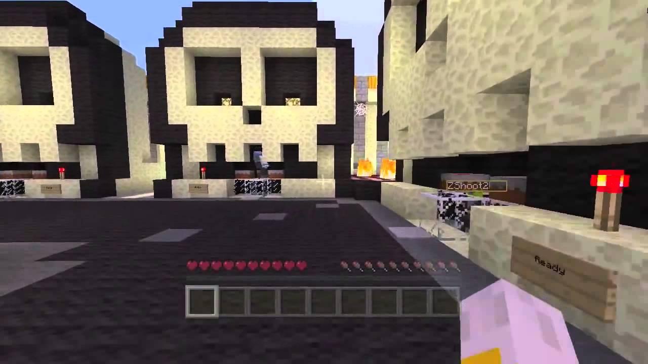 minecraft xbox - halloween hunger games - bone yard - youtube