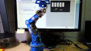 using labview control robotic arm with arduino