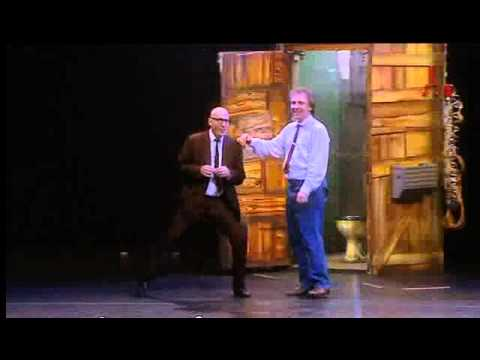 Rik and Ade become Rick and Vyvyan   Bottom Live 'Weapons Grade Y Fronts 2003