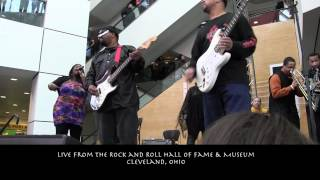Universal Funk Mob Live at the Rock Hall Cleveland, Ohio