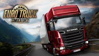 Euro Truck Simulator2 Мультиплеер[FullHD|PC] #ETS2 Ковзанки на 2 серваці й