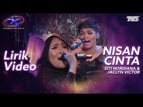[Lirik Video] Siti Nordiana & Jaclyn Victor - Nisan Cinta   #AJL33