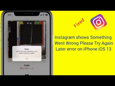 How To Fix Instagram Something Went Wrong Please Try Again Later When Posting On IPhone U0026 IPad