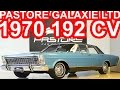 PASTORE Ford Galaxie LTD 1970 Azul Náutico 292 AT3 RWD 4.8 V8 192 cv 37,1 mkgf 150 kmh #Ford